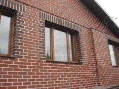 Фасади з цегли