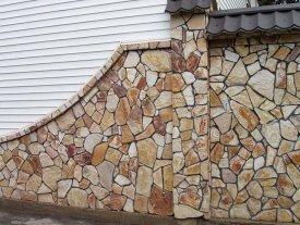 обробка каменем фасадів