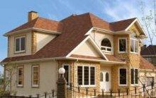 Послуги з облицювання фасадів каменем, оздоблення фасадів