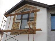 Оздоблення фасаду дачного будинку